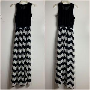 Heart Soul Heartsoul Maxi Dress Women's XS Black